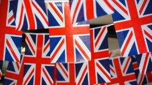 Die britische Flagge, der Union Jack