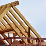 Dachtragwerk aus Holzbalken