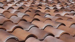 Betondachsteine für die Dachdeckung