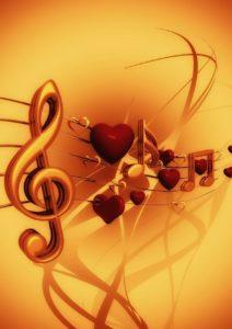 Noten und Musik