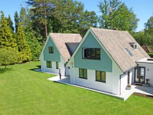 Häuser mit Satteldach