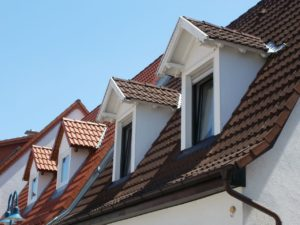 Verschiedene Dachgauben