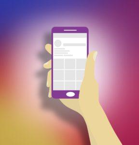 Smartphone mit Dachdecker-App
