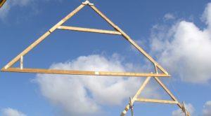 Konstruktion vom Dachtragwerk